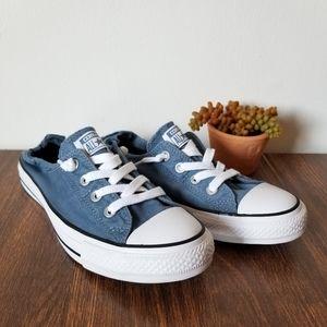 Converse - Blue Slip On Sneakers